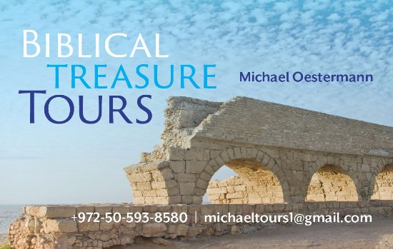 Biblical Treasure Tours with Michael Oestermann