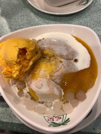 Mango Shaved Ice with Freah Mango