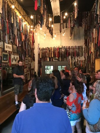 Decatur, GA: Duck at Monday Night Brewing gives one heck of tour!