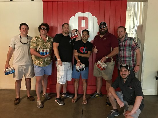 Decatur, GA: Craft beer and bachelor parties work very well together