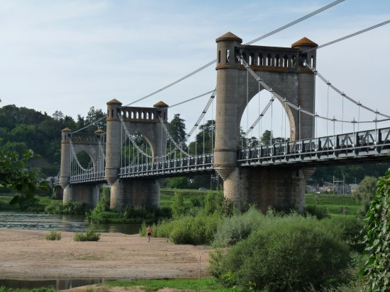 Langeais, ฝรั่งเศส: vu de la Loire