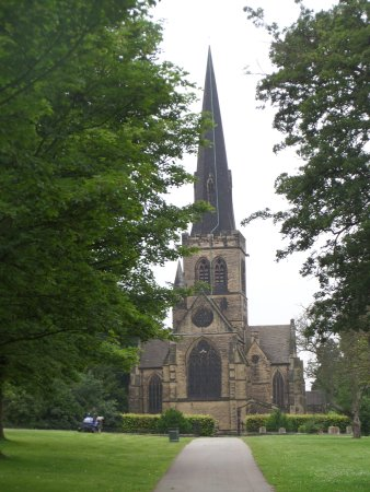 Rotherham, UK: Wentworth Church