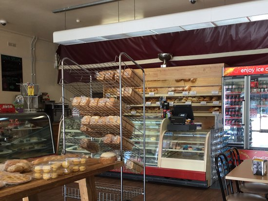 Stawell, Australia: bread selection