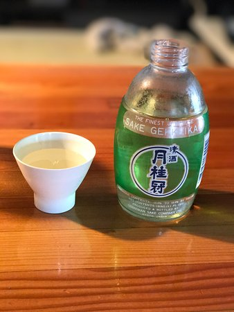 Mountain Sky Hotel: Cold Sake. They also have warm Sake on tap.