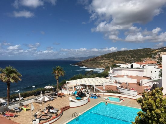Hotel Pedraladda : Vista dalla camera