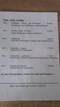Butjadingen, Almanya: Fischgerichte