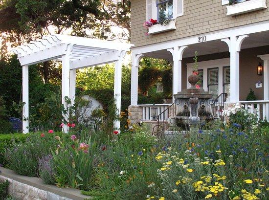 โอจาอิ, แคลิฟอร์เนีย: Flowers abound at Lavender Inn!