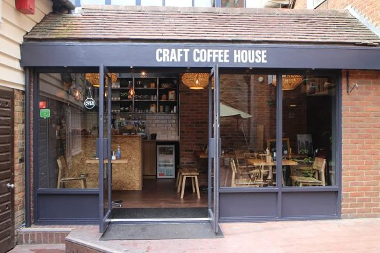 Craft coffee house picture of craft coffee house for Coffee crafts