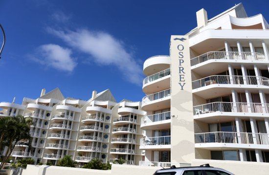 Osprey apartments from Buderim Road