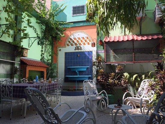Patio Picture Of Casa Terraza Pavo Real Santiago De Cuba