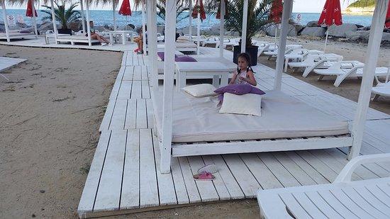 Tsarevo, Bulgaria: na plaży