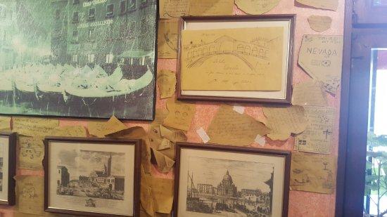 Décoration du restaurant picture of ristorante pizzeria