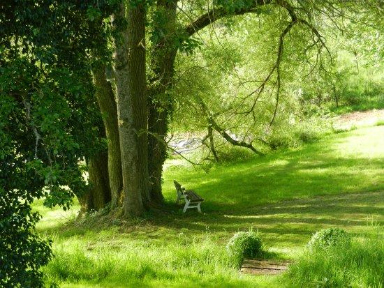 Chateau de Roncourt : Zum Träumen, Ruhen und Lustwandeln: der Park