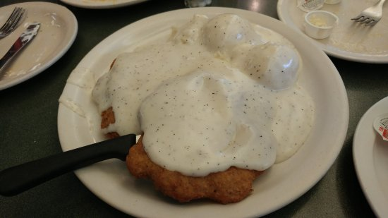 Sebring, FL: Country Fried Steak (Photo does not do it justice)