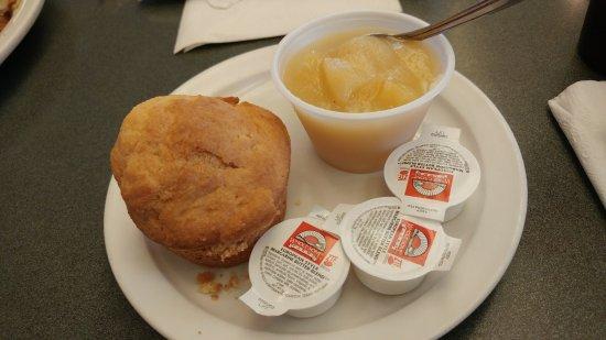 Sebring, FL: Applesauce and Corn Muffin
