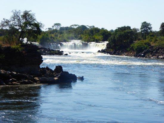 Sesheke, Zambia: Ngonye Falls (in part)