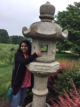 Urbana, IL: stone pillar