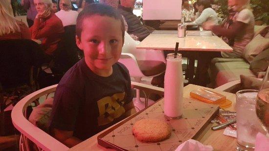Kloof, Sør-Afrika: milk and cookie