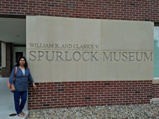 Urbana, IL: Entrance to Spurlock Museum