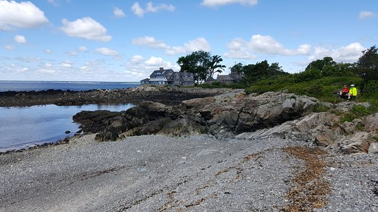 Kennebunkport, ME: strategically placded bench