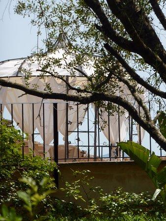 Finca Son Jorbo : Gazebo on 'Rosa' terrace