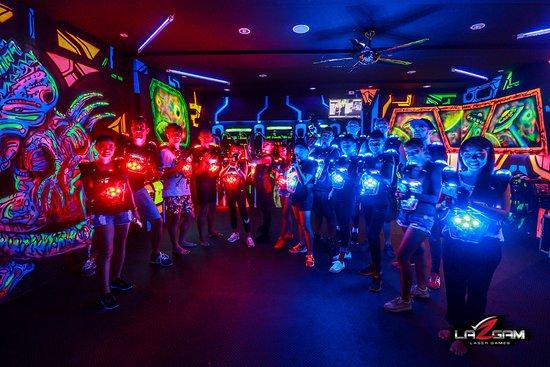 Lazgam Laser Games Koh Samui