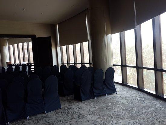 Hyatt Regency Delhi: Oval meeting hall