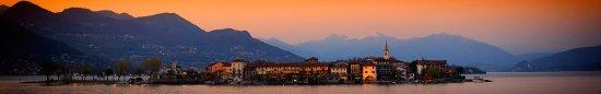 Isola Pescatori, Italy: tramonto