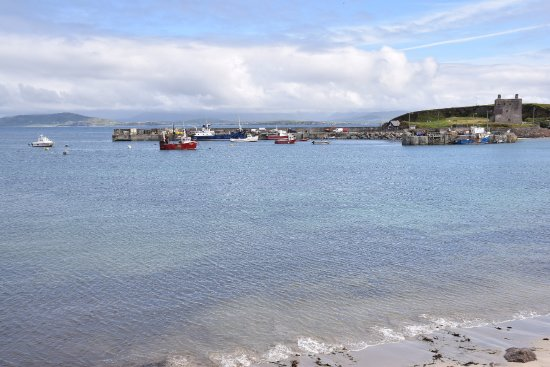 Клэр-Айленд, Ирландия: View of the harbour, Clare Island, Co. Mayo