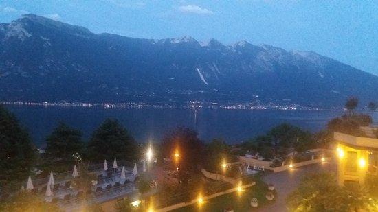 Hotel Cristina: Ausblick vom Balkon