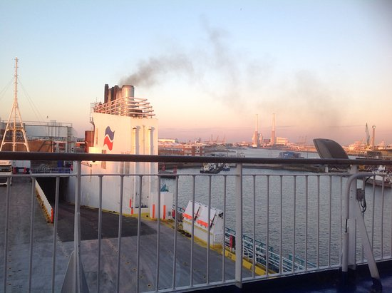 Portsmouth To Le Havre >> Leaving Le Havre At 10pm On A Lovely Sunny Evening Picture