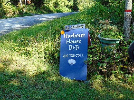 A Harbour House: B&B.