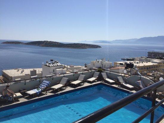 Alantha Apartments Hotel : Con la mejor vista del mediterráneo en agios Nikolaos !! 🔝🔝 the best hotel ✔️