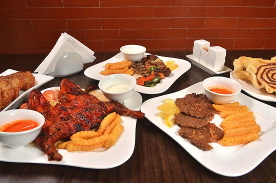 Beef Steak Mixed Grill Grilled Chicken And Sweet With Authentic And Real Arabic Mediterranean T Picture Of Al Dimashqi Halal Restaurant Manila Tripadvisor
