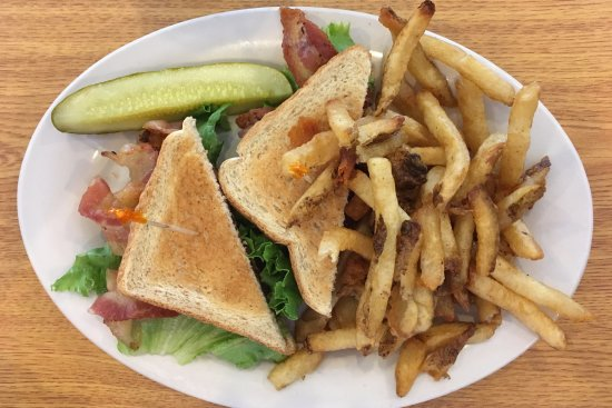 Smithfield, VA: BLT with Fries