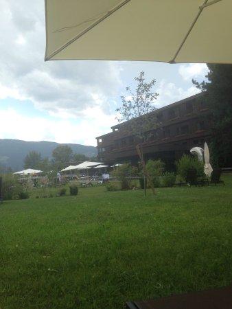 Rubner's Hotel Rudolf: Zona verde