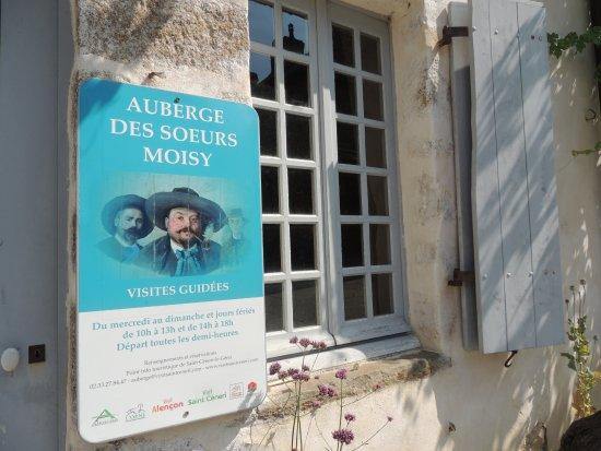 Saint-Ceneri-le-Gerei, Prancis: Visites guidées de l'Auberge des Soeurs Moisy