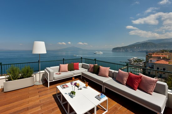 Breath Taking View From Terrazza Vittoria Sorrento Picture Of