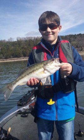 Branson Fishing Guide Table Rock Lake Bass Picture Of