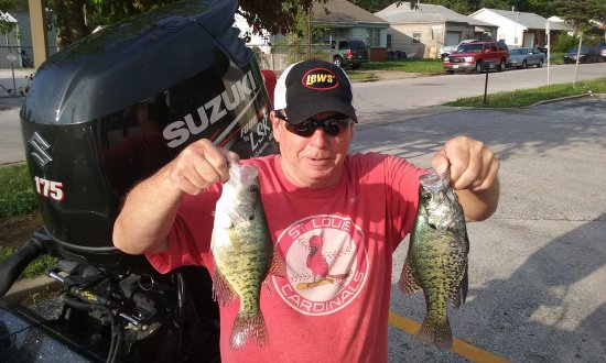 Branson Fishing Guide Table Rock Lake Crappie Picture Of