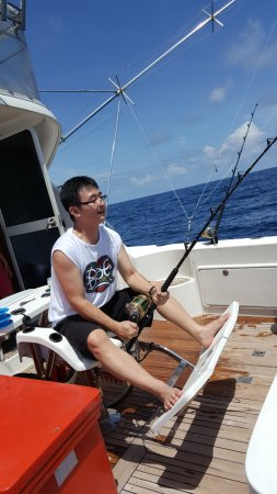 Phuket Fishing Charters : Fighting Chair