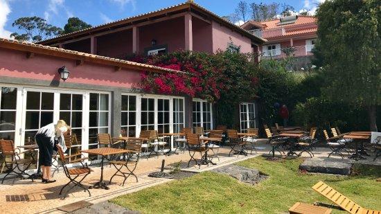 Atrio: Außenbereich Restaurant