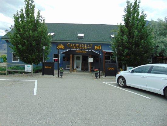 Cawston, Canada: De entree.