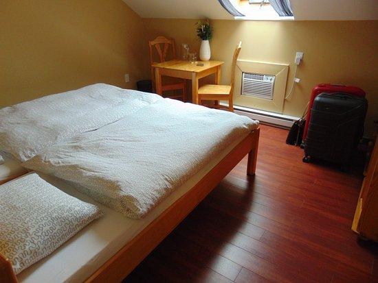 Cawston, Canada: De zolderkamer.