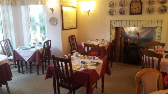 Acorn Lodge: breakfast area