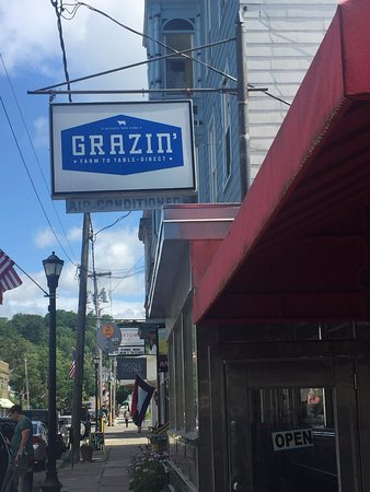 Grazin': You can spot the place on Warren Street