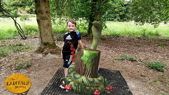 Goudhurst, UK: Gruffalo Trail with App