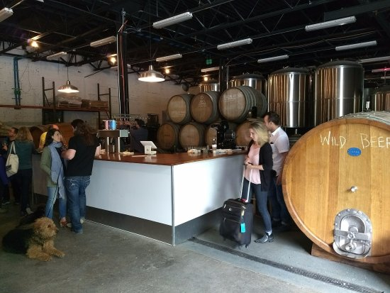 Beacon, NY: Just a few steps from tank to tap
