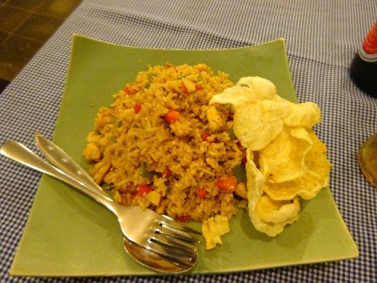 Desa Sekotong Barat, Ινδονησία: Extra spicy nasi