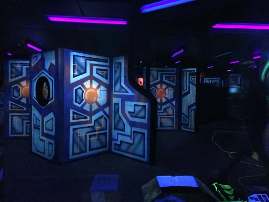 Chesterton, IN: Laser Tag for the whole family.